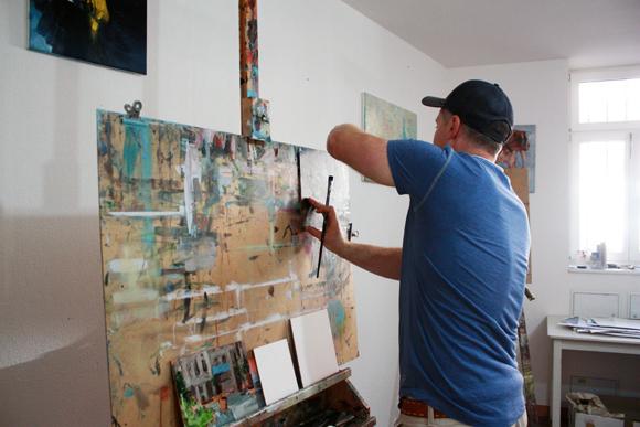Heiko Mattausch Maler Atelier
