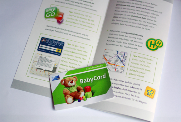 Babycard LVB Leipzig