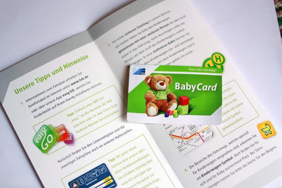 LVB Babycard Leipzig freie Fahrt