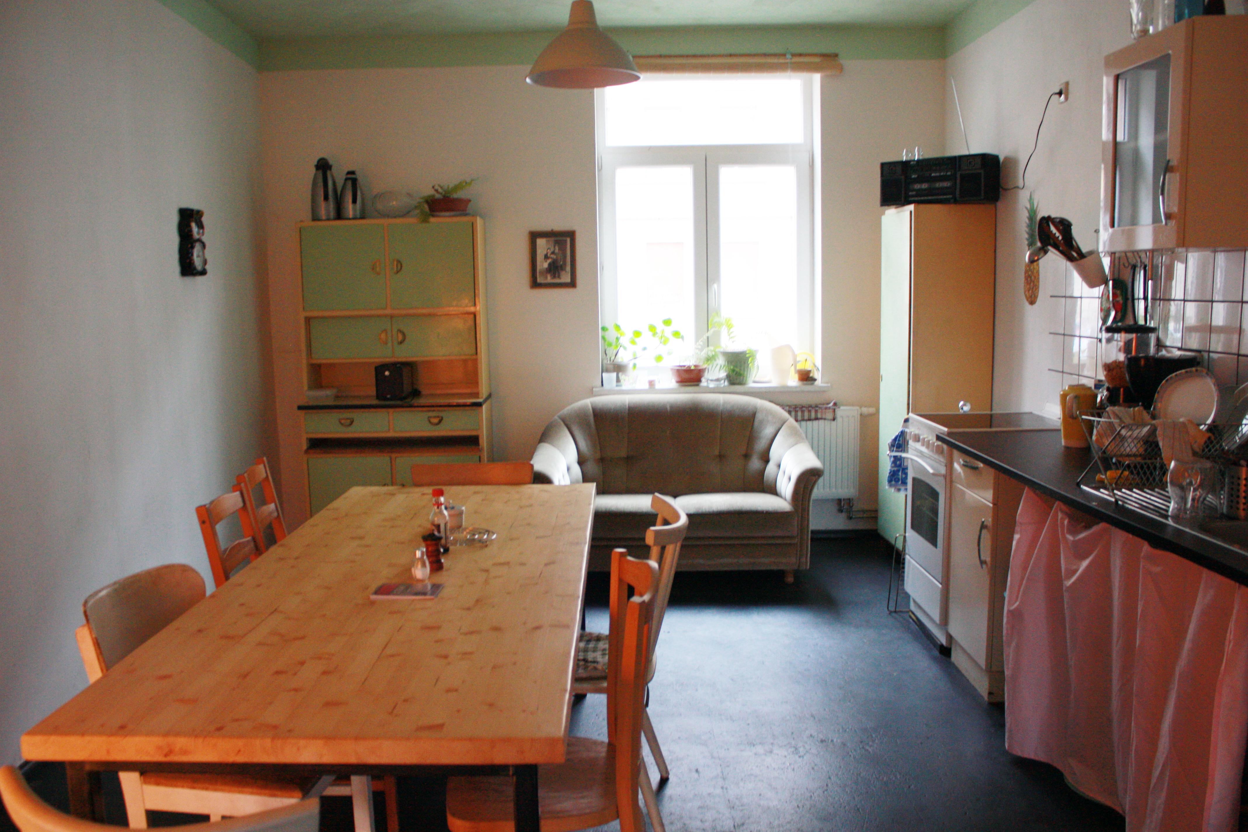 Hostel Eden Leipzig Gemeinschaftsküche