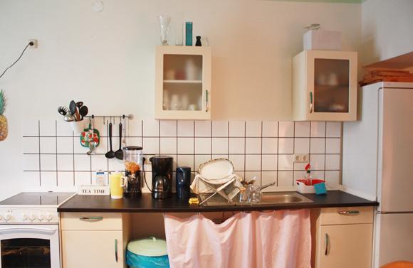 Hostel Eden Leipzig Küche