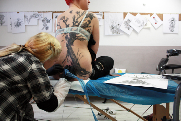 Stichgebiet leipzig Tattoo Studio
