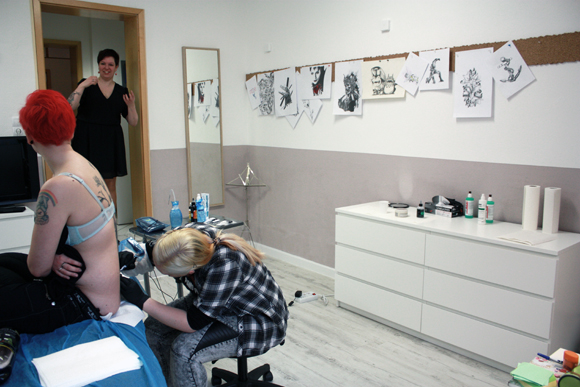 Tattoo Studio Leipzig Plagwitz Stichgebiet