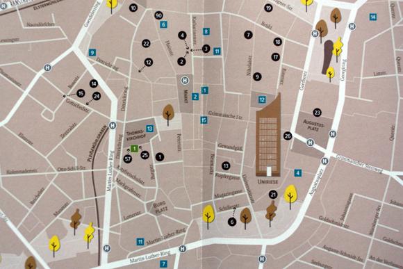 Stadtschwärmer City Guide Leipzig