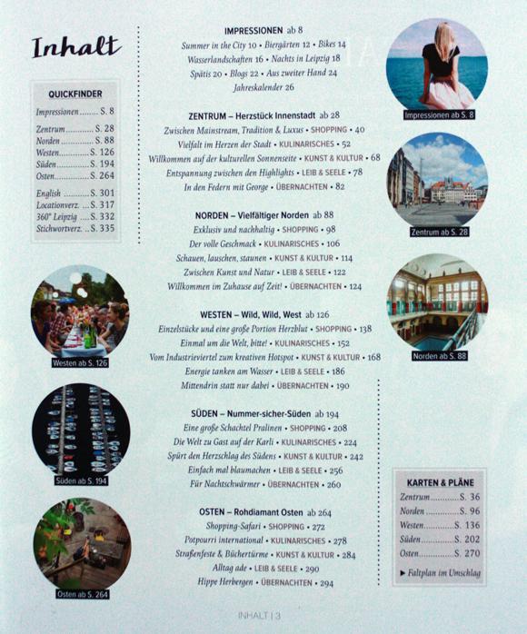Stadtschwärmer Leipzig Inhalt