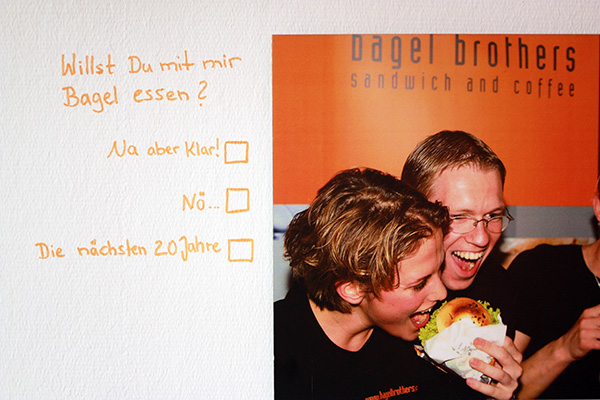 bagel brothers flirt