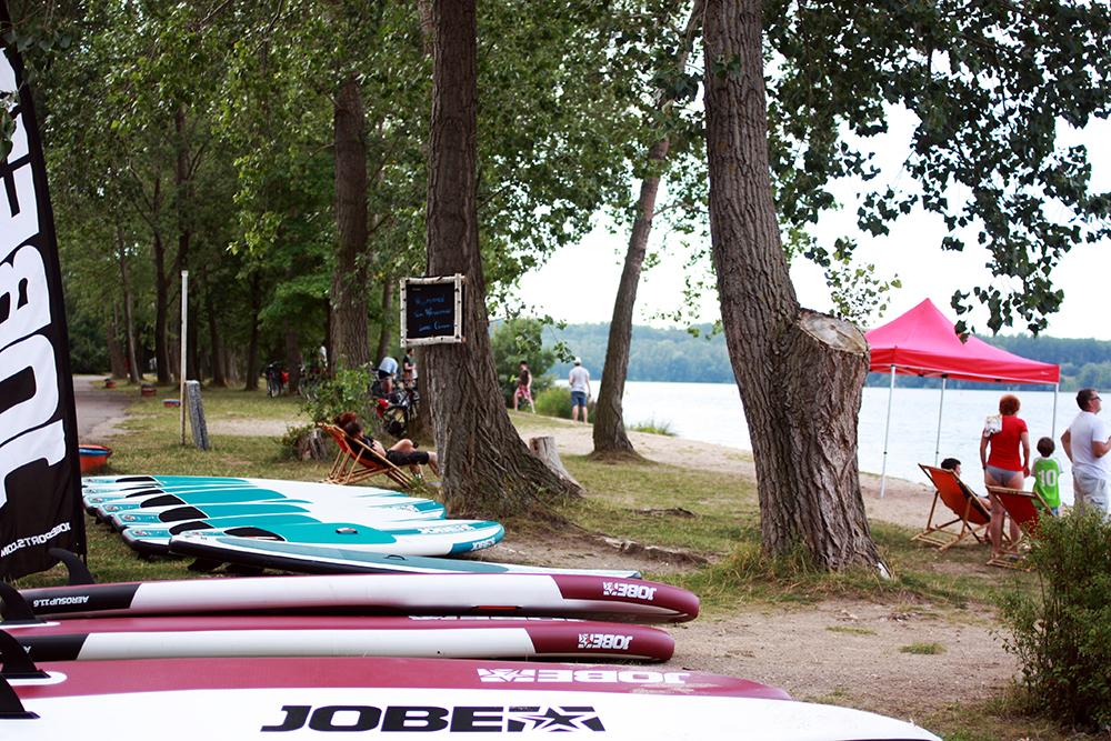 stand up paddling leipzig kulkwitzer see