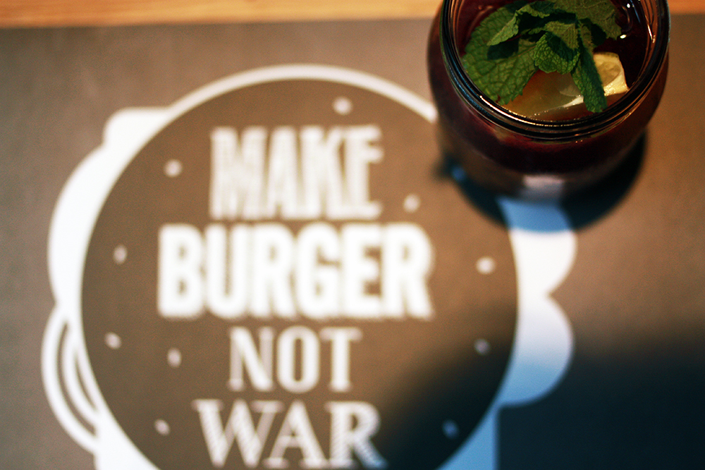 make burger not war