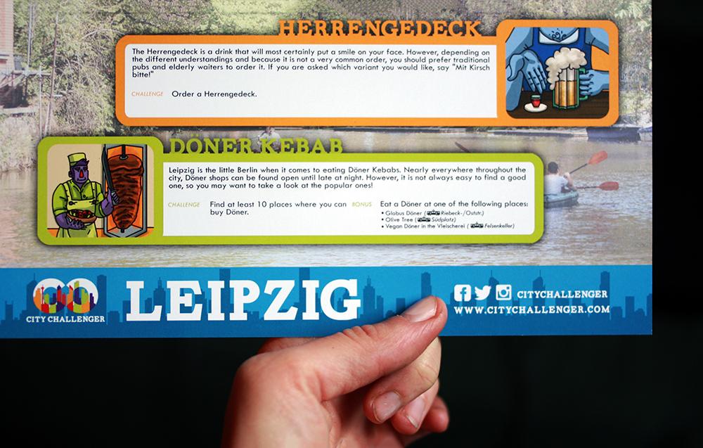 City Challenger Leipzig Aufgabe Herrengedeck