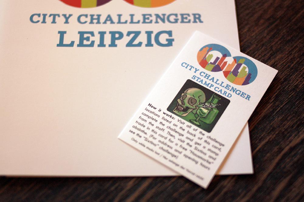City Challenger Stempelkarte