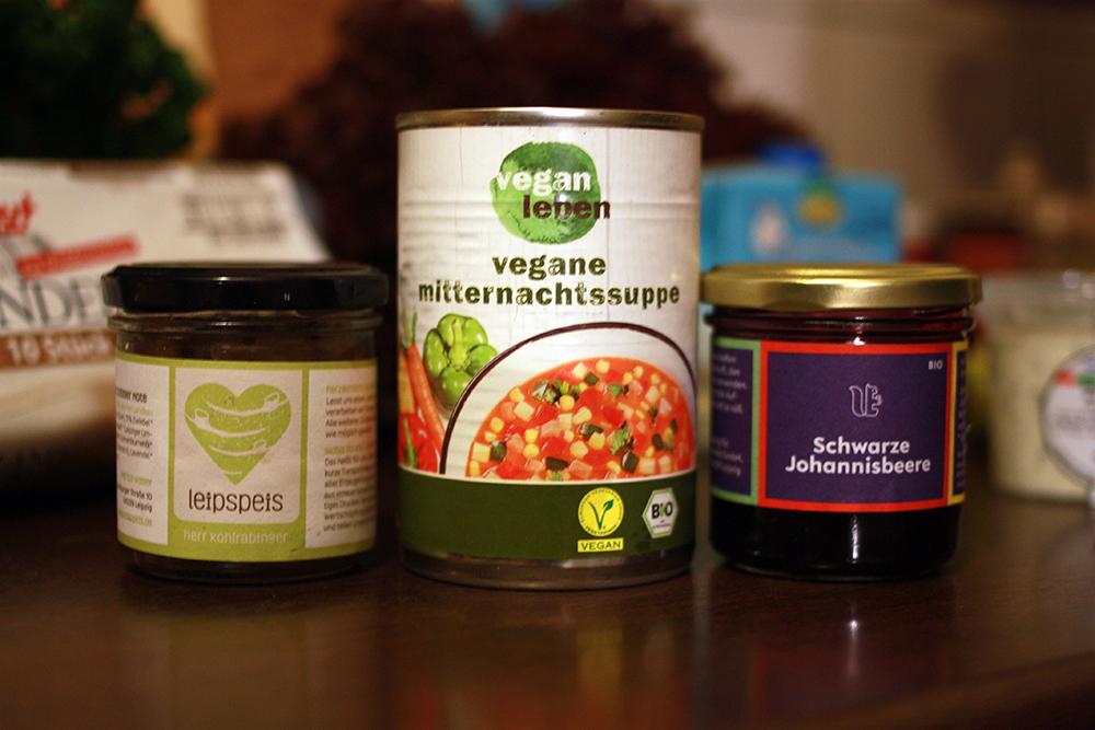 Wellonga Mitternachtssuppe Vegan