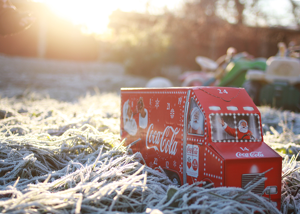 Coca Cola Weihnachtstrucks Leipzig 2016