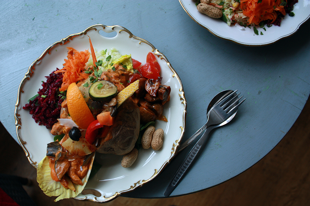 Krummbirne Leipzig Ofenkartoffeln