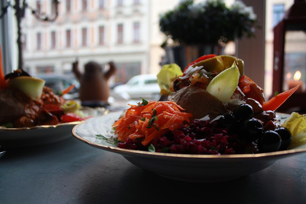 Ofenkartoffeln Leipzig Krummbirne