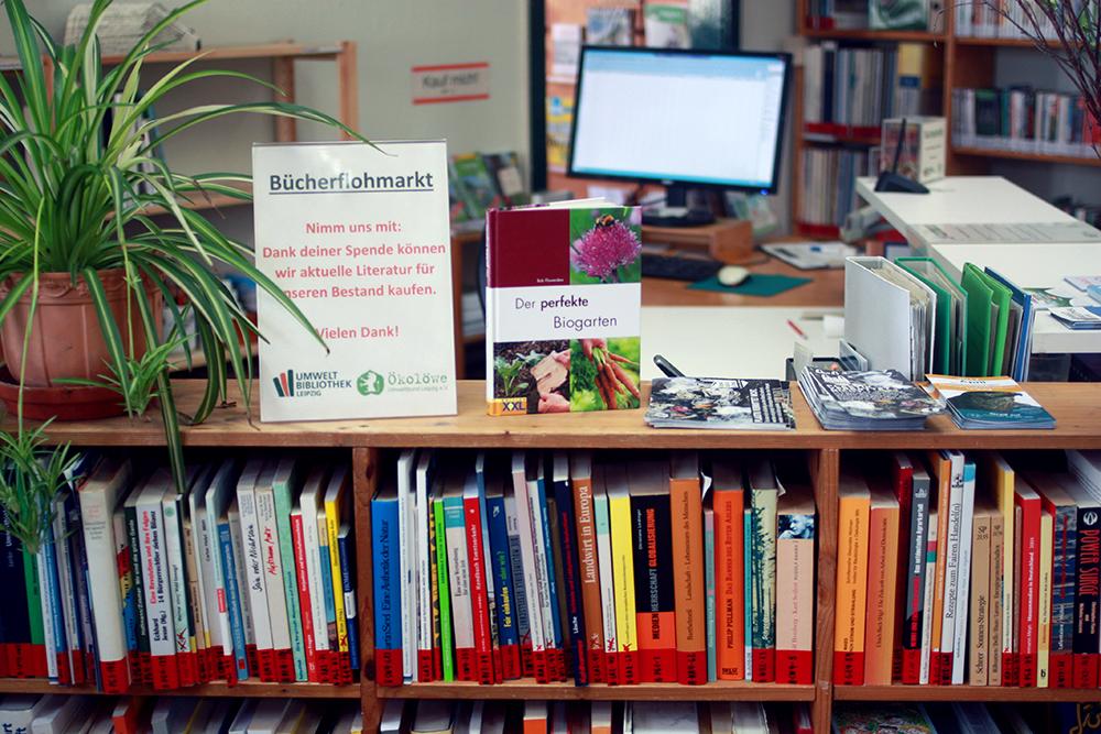 Umweltbibliothek Leipzig Bücherflohmarkt