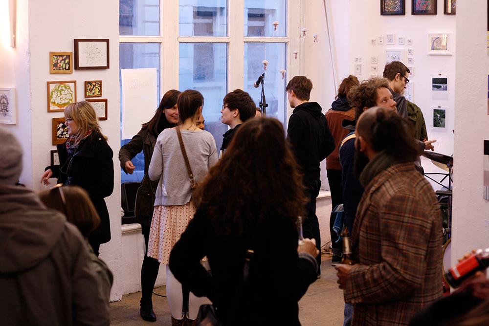 DINAkleinerals Ausstellung