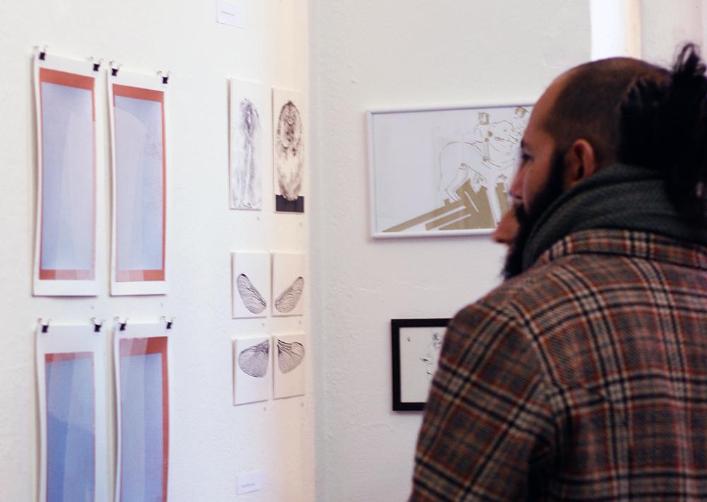 DINAkleinerals Leipzig Ausstellungsprojekt