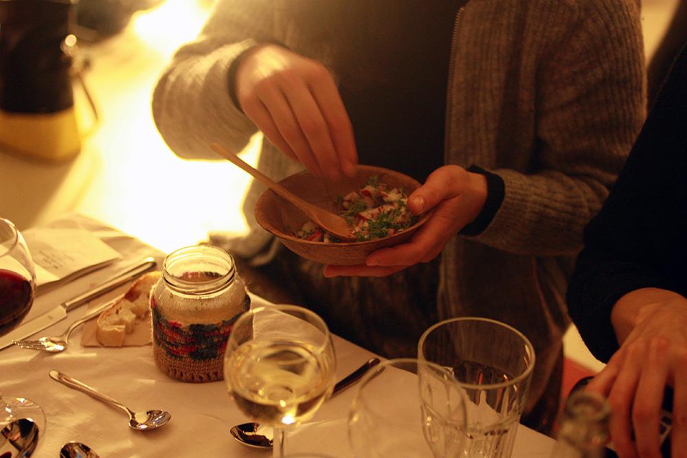 Leipziger Tischlein Dinner