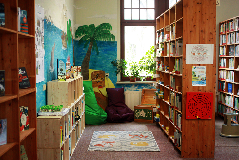 Umweltbibliothek Leipzig Kinderecke