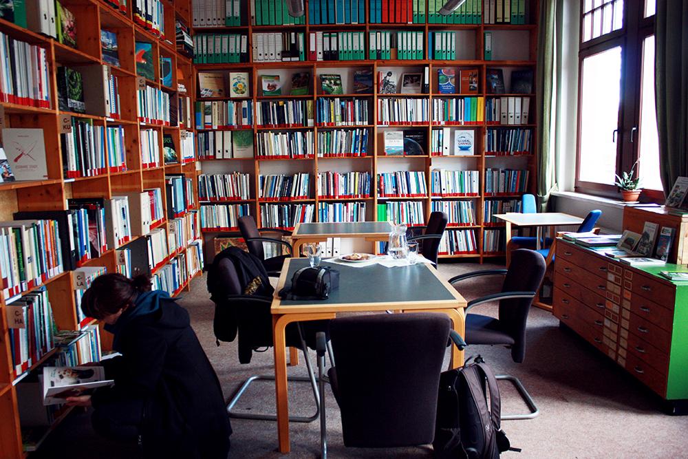 Umweltbibliothek Leipzig Leseecke
