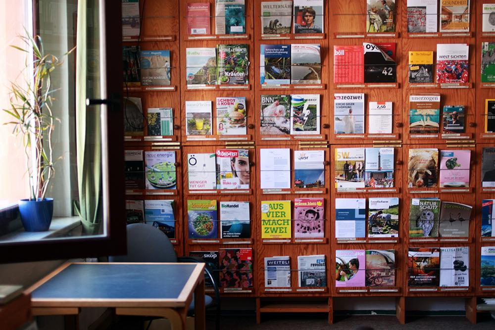 Umweltbibliothek Leipzig Lesezimmer