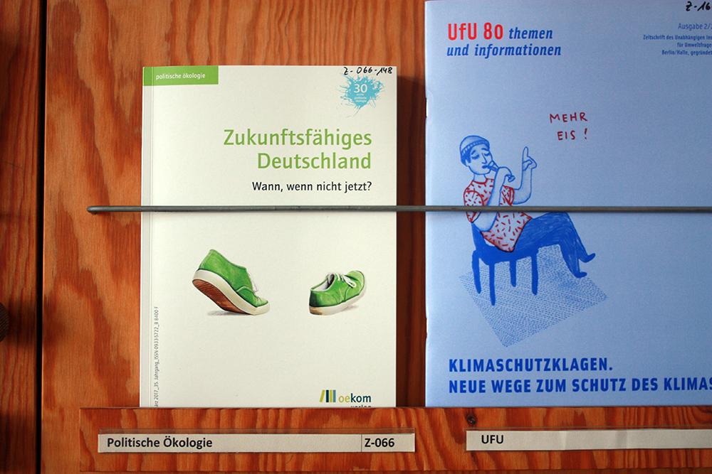 Umweltbibliothek Leipzig Magazine