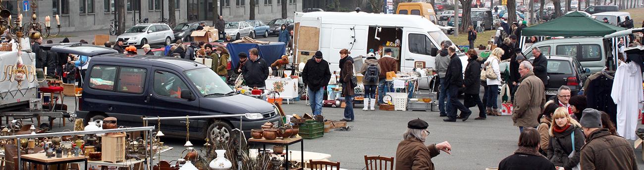 alte messe flohmarkt