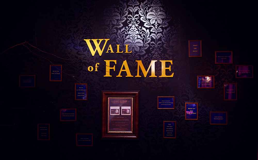 Wall of Fame Roomystery Leipzig