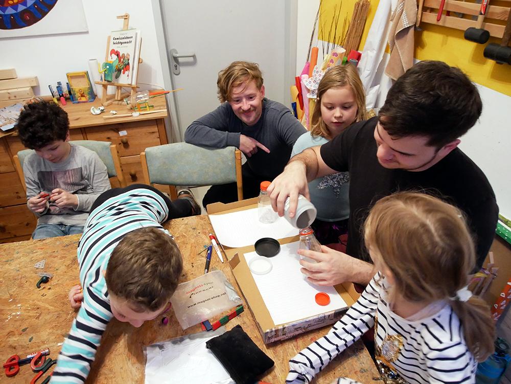 Erfinderkinder in Leipzig