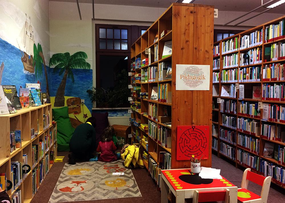 Leseinsel umweltbibliothek