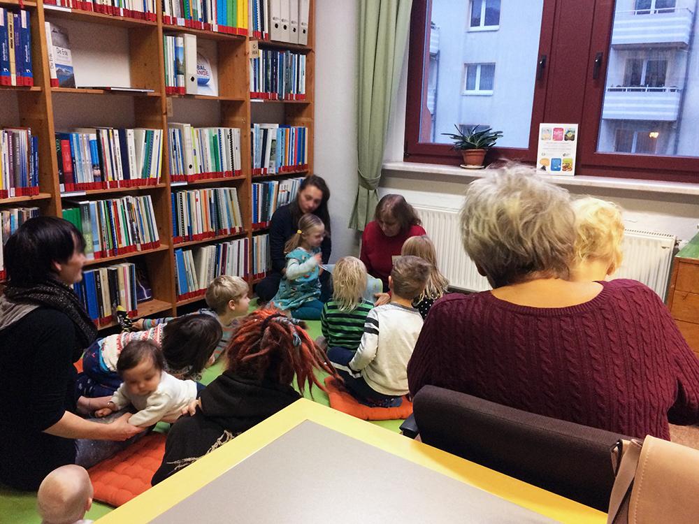 Umweltbibliothek vorlesenachmittag