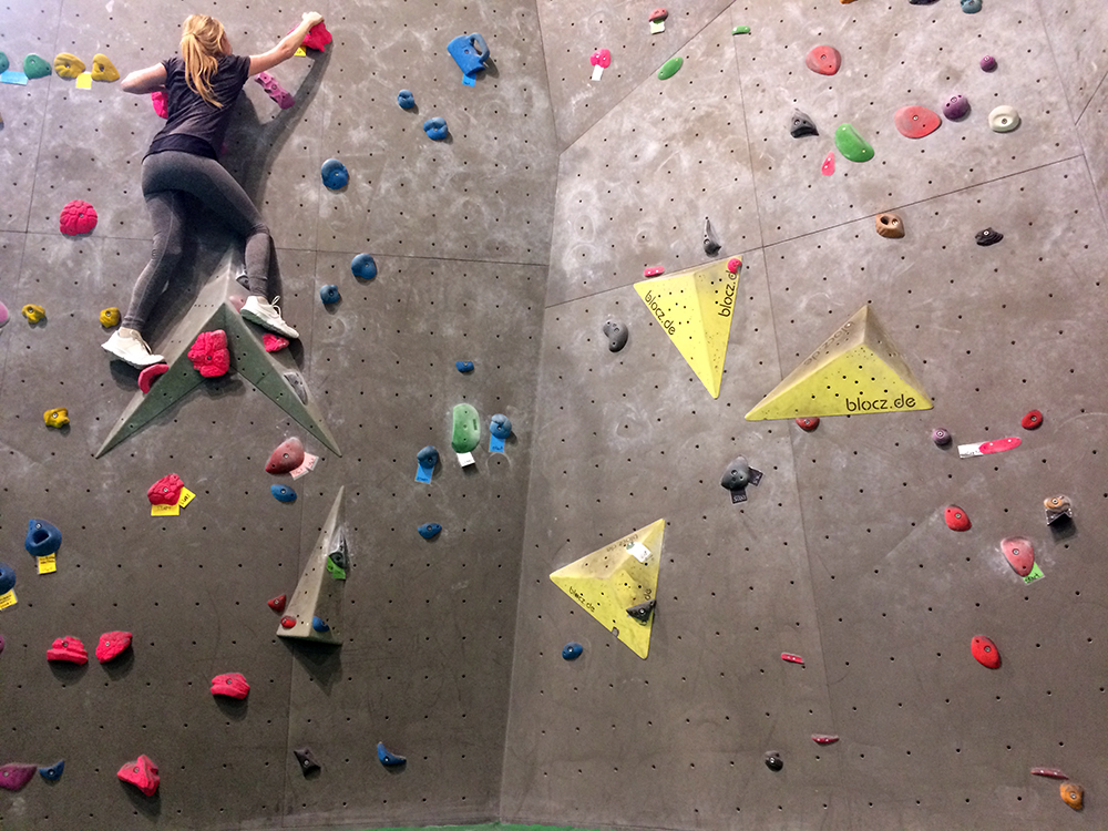 bouldern kletterhalle