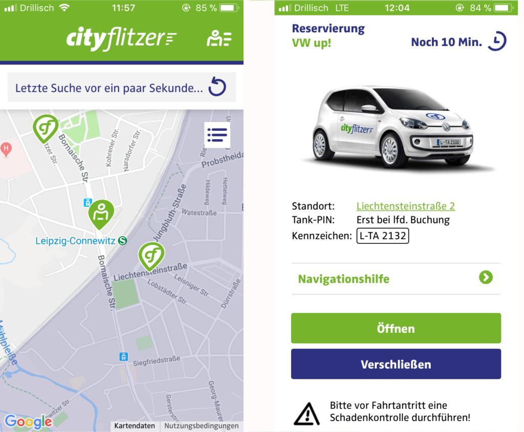 cityflitzer app