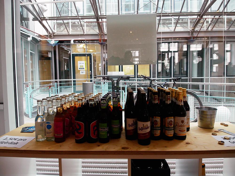 Webmontag Bier