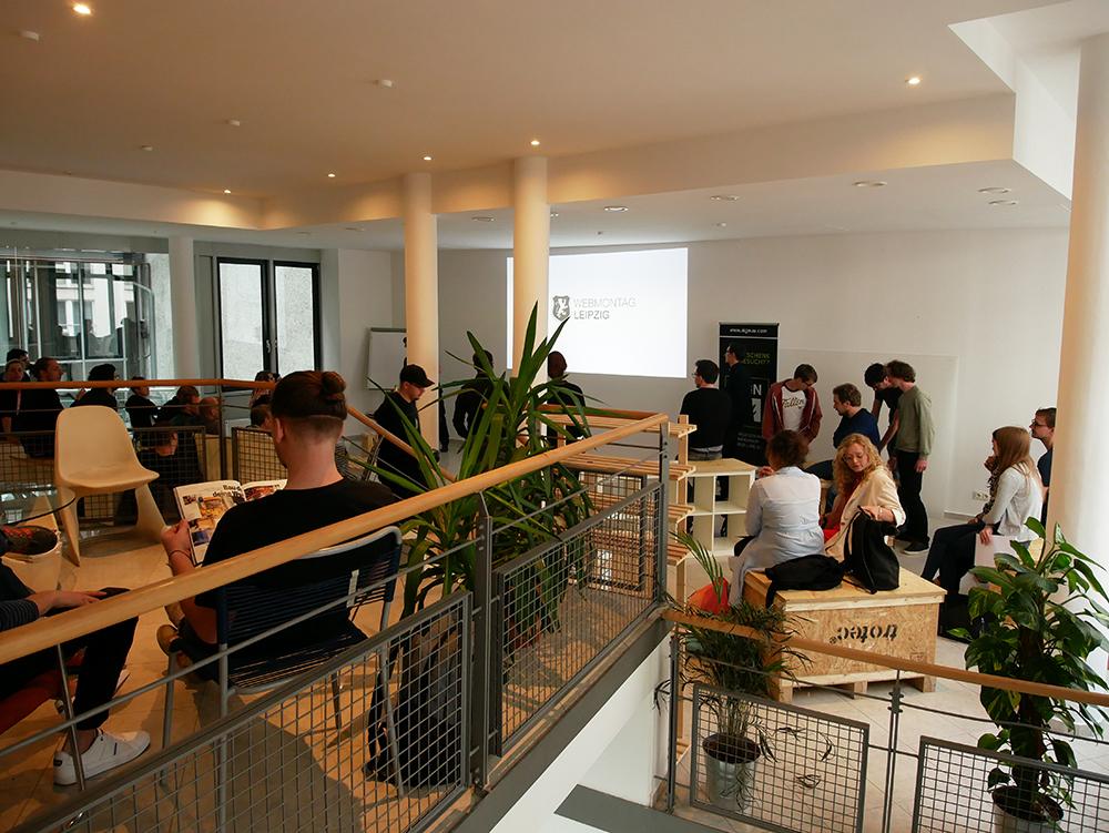 Webmontag in Leipzig