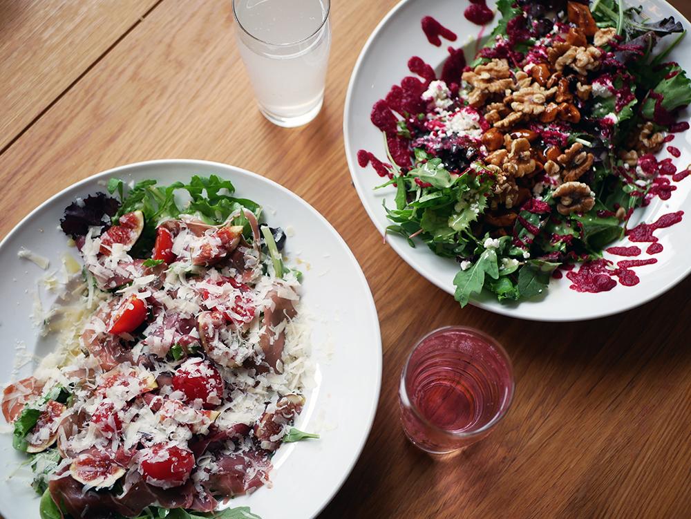 salat rote soße