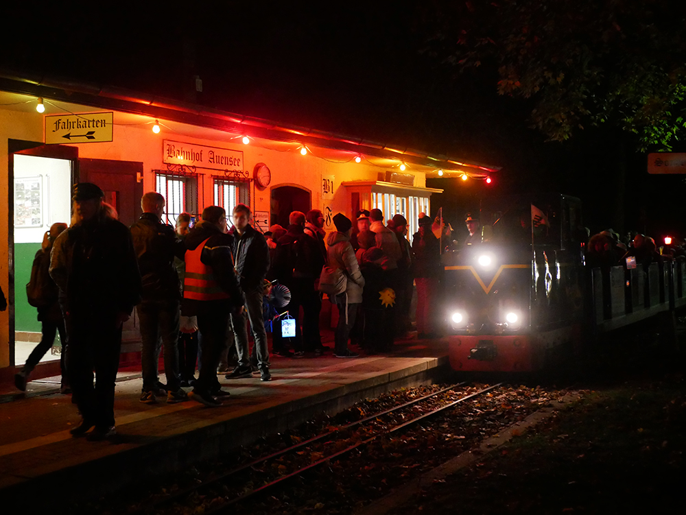 Parkeisenbahn Auensee Saisonausklang