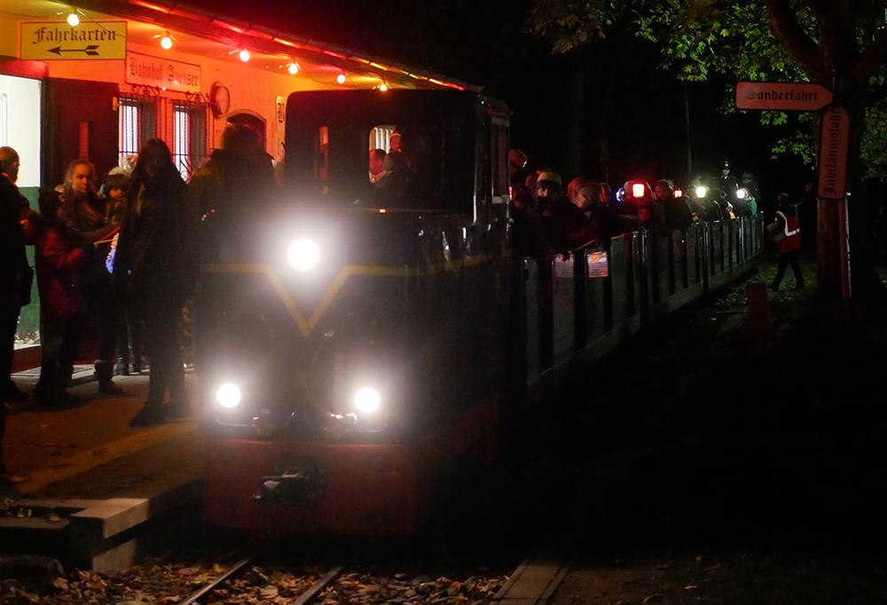 Parkeisenbahn Lampionfahrt