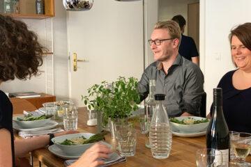 Wohnzimmer Dinner